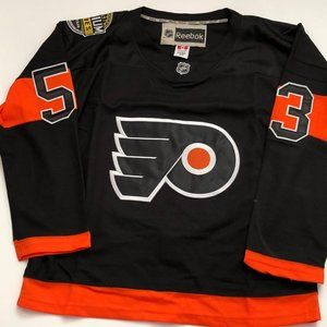 "NHL Philadelphia Flyers #53 Shane ""Ghost"" Gostisbe"